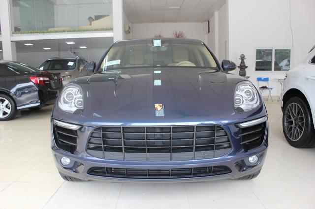 Bán Porsche Macan Turbo năm 2015, màu xanh lam, nhập khẩu nguyên chiếc