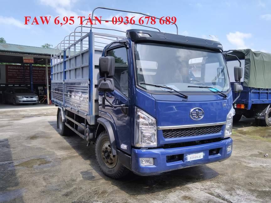 Cần bán xe tải Faw 6,95 tấn thùng dài 5,1m. Giá tốt nhất thị trường