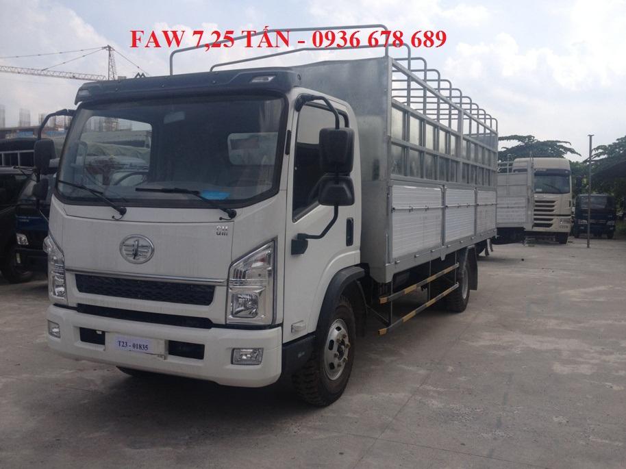 Bán FAW xe tải thùng đời 2017, màu trắng, giá tốt