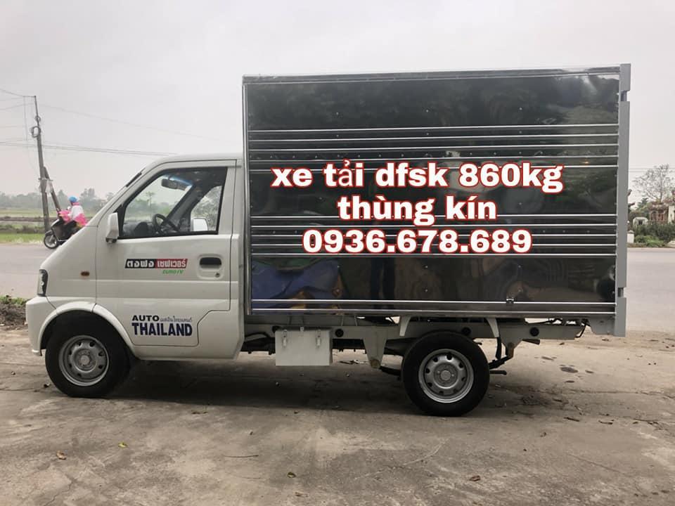 Bán xe tải DFSK 860kg thùng kín, đời mới, giá rẻ nhất