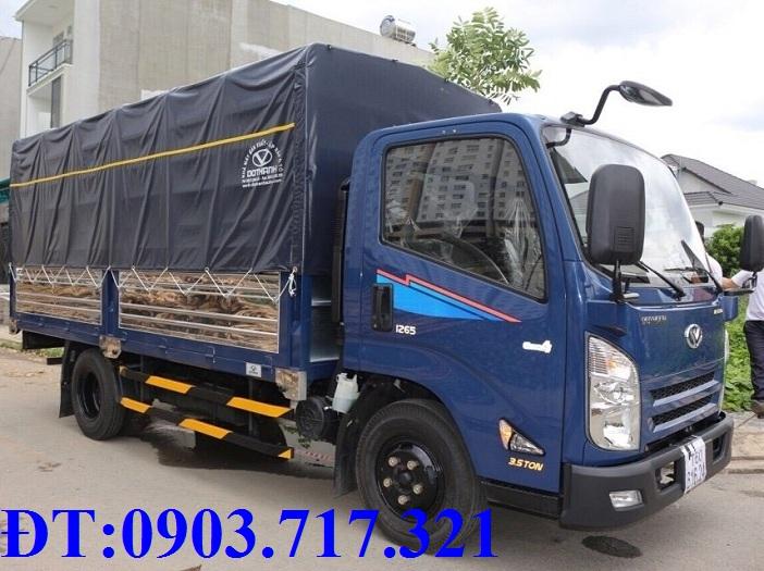 Bán xe tải Z65 Đô Thành mới 2018. Gía bán xe tải Đô Thành IZ65 thùng mui bạt giá tốt nhất