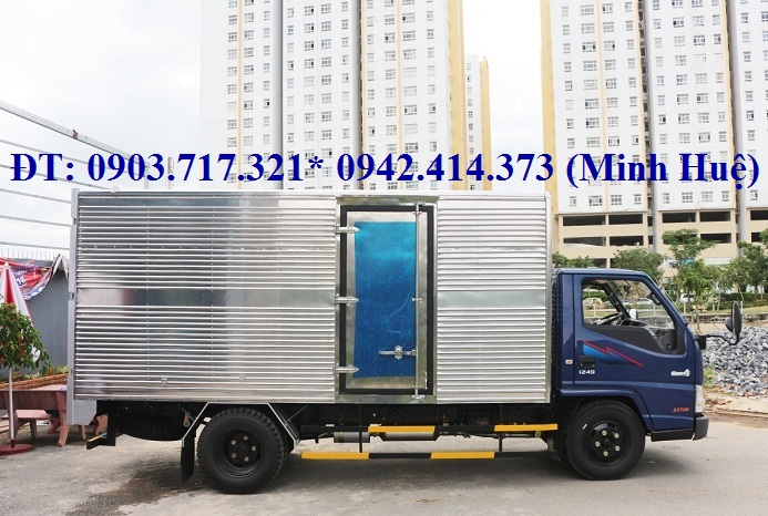 Giá xe tải IZ49 Đô Thành 2t2 thùng kín. IZ49 Đô Thành động cơ Isuzu. Đô Thành IZ49 mới 2018
