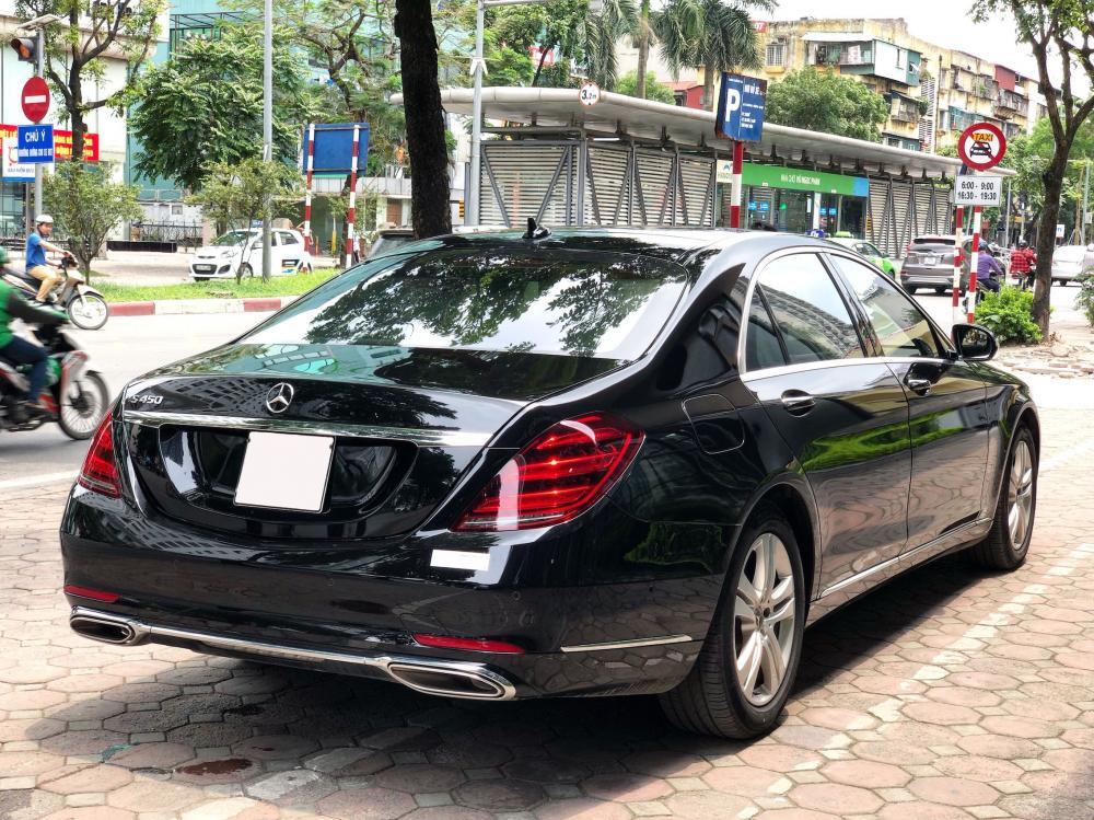 Cần bán lại xe Mercedes S450L đời 2019, màu đen