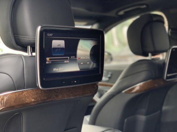 Xe Mercedes S500 Luxury 2016, màu đen, nhập khẩu