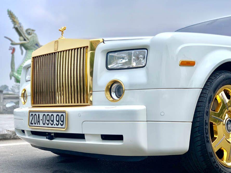 Bán xe Rolls-Royce Phantom Series VII đời 2008, màu trắng, nhập khẩu chính hãng