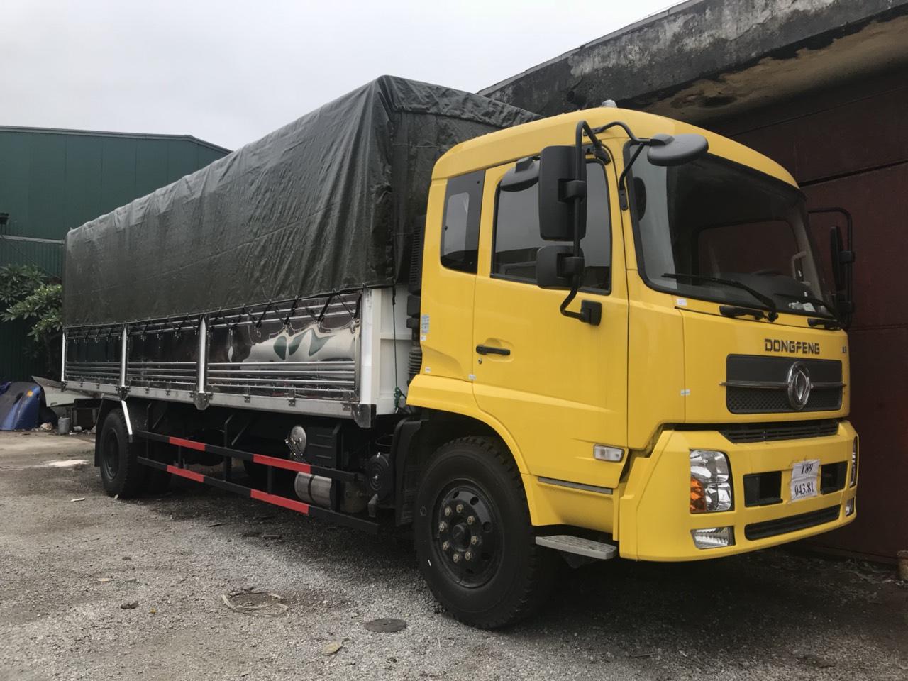 Xe tải thùng hai chân B180 Dongfeng Hoàng Huy nhập khẩu