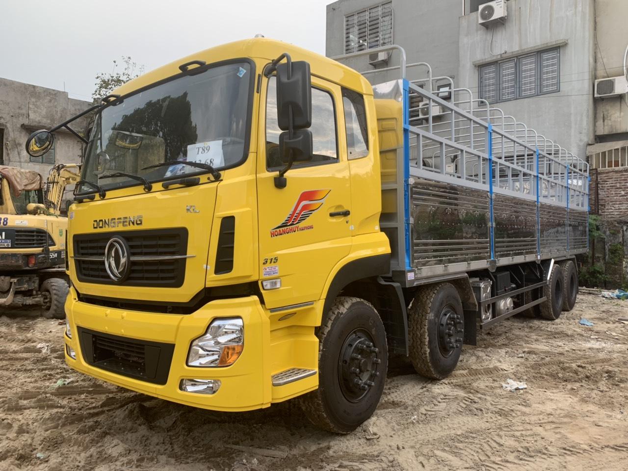 Xe 4 chân Dongfeng Hoàng Huy tải 17T9 giá rẻ - Trả góp 70 - 90%