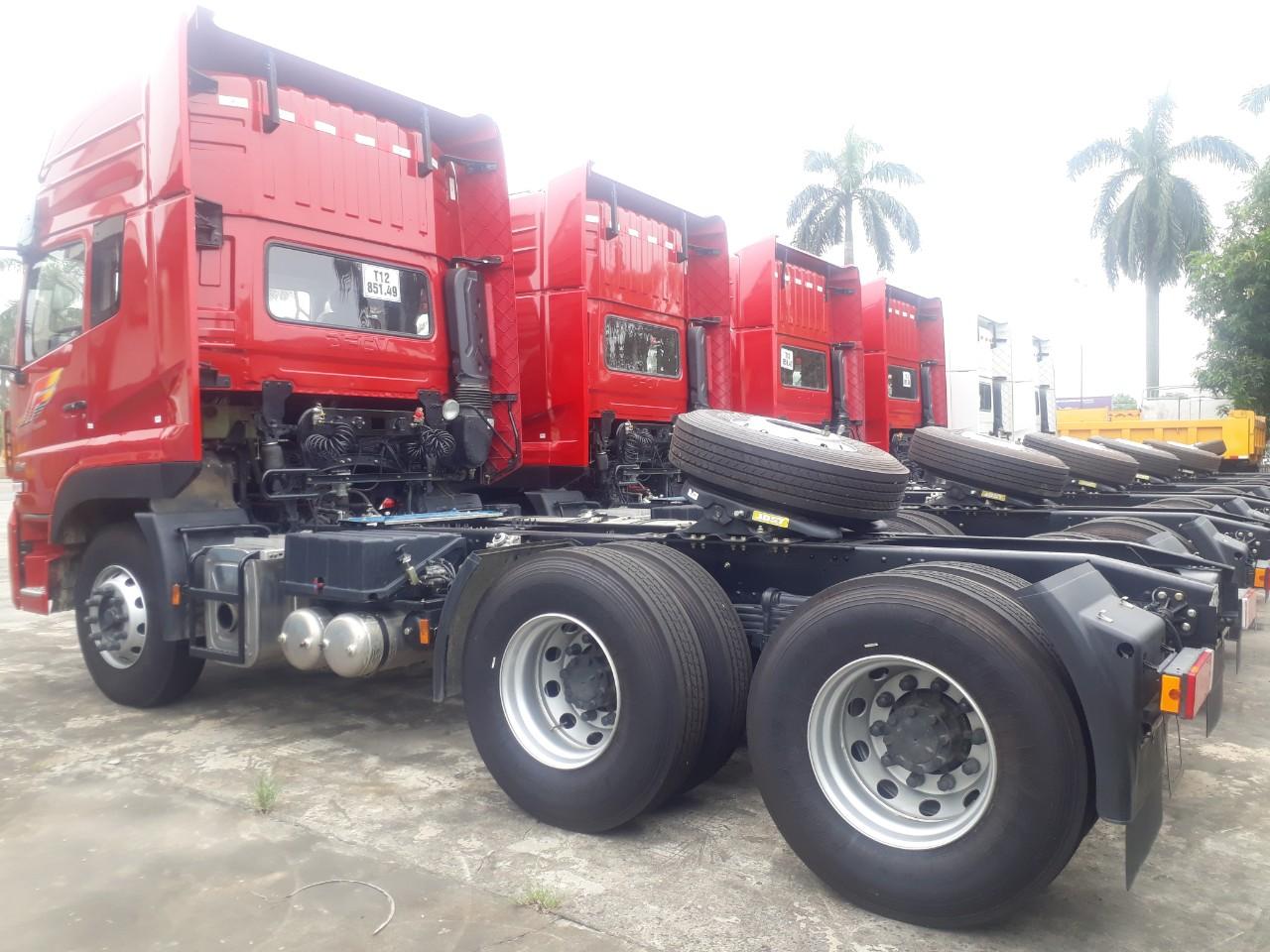Xe đầu kéo Donfeng 420 hp nhập khẩu