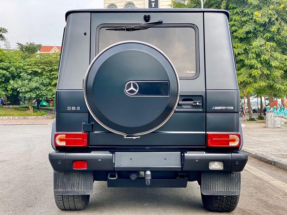 Cần bán xe Mercedes G500 đời 2017, màu đen, xe nhập