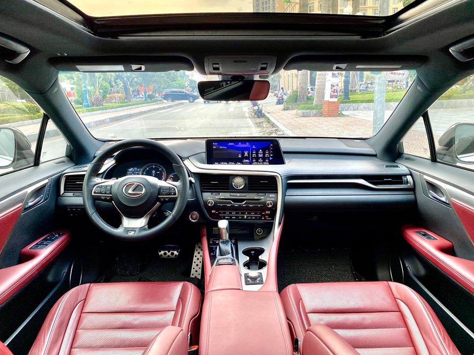 Bán xe Lexus RX350 F-Sport 2016, màu trắng, xe nhập