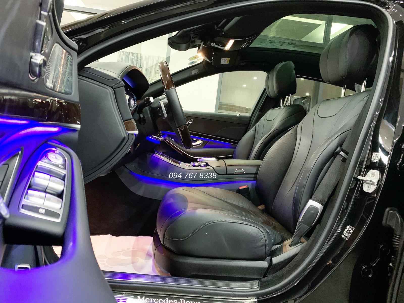 Bán ô tô Mercedes S450L đời 2019, màu đen
