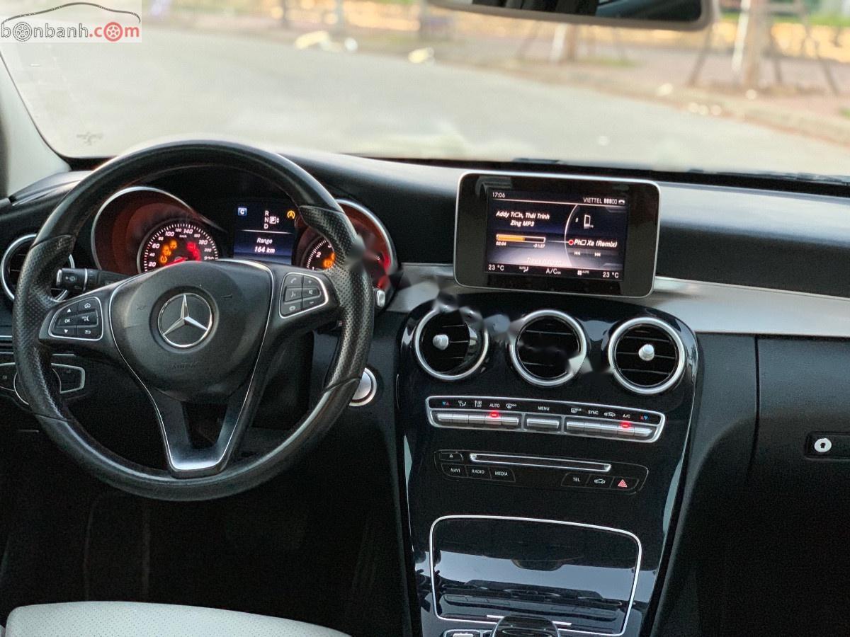 Cần bán lại xe Mercedes C200 đời 2015, màu xanh lam