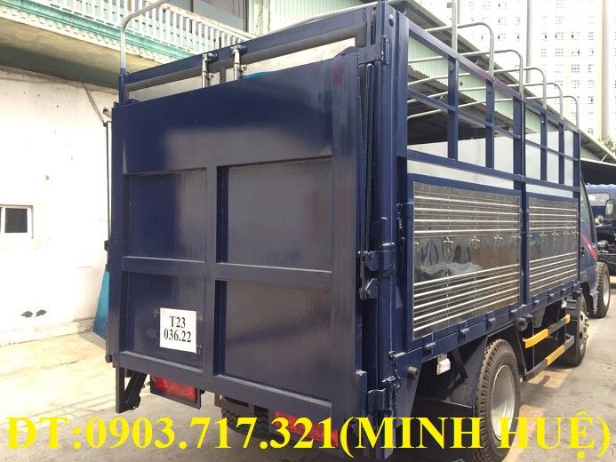 Xe tải Jac 1t99 bửng nâng. Bán xe tải Jac 1t99 bửng nâng thùng mui bạt dài 4m3
