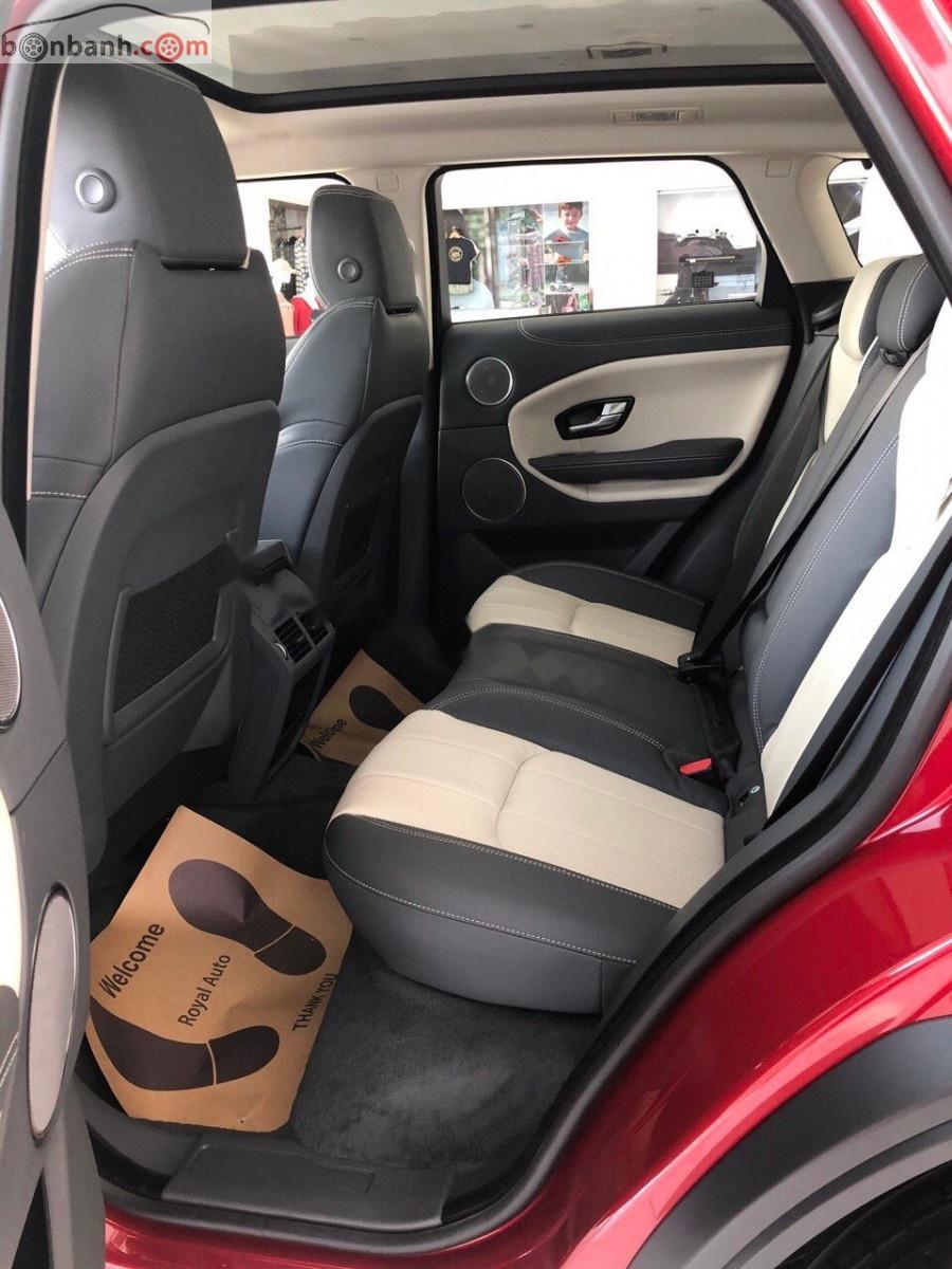 Bán LandRover Range Rover Evoque SE Plus sản xuất 2019, màu đỏ, nhập khẩu nguyên chiếc số tự động