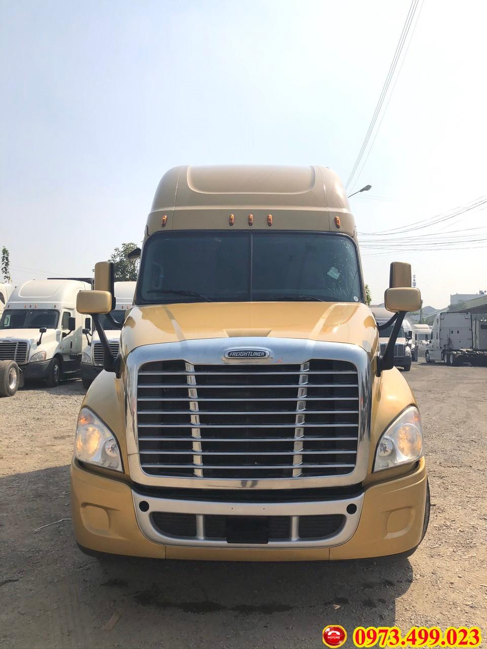 Xe đầu kéo Mỹ Freightliner Cascadia 2 giường