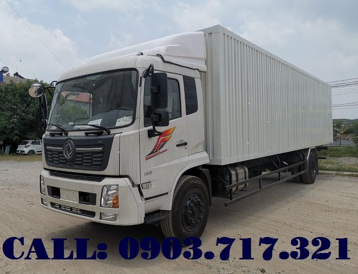 Bán xe tải DongFeng B180 thùng kín nhập khẩu từ Hồ Bắc