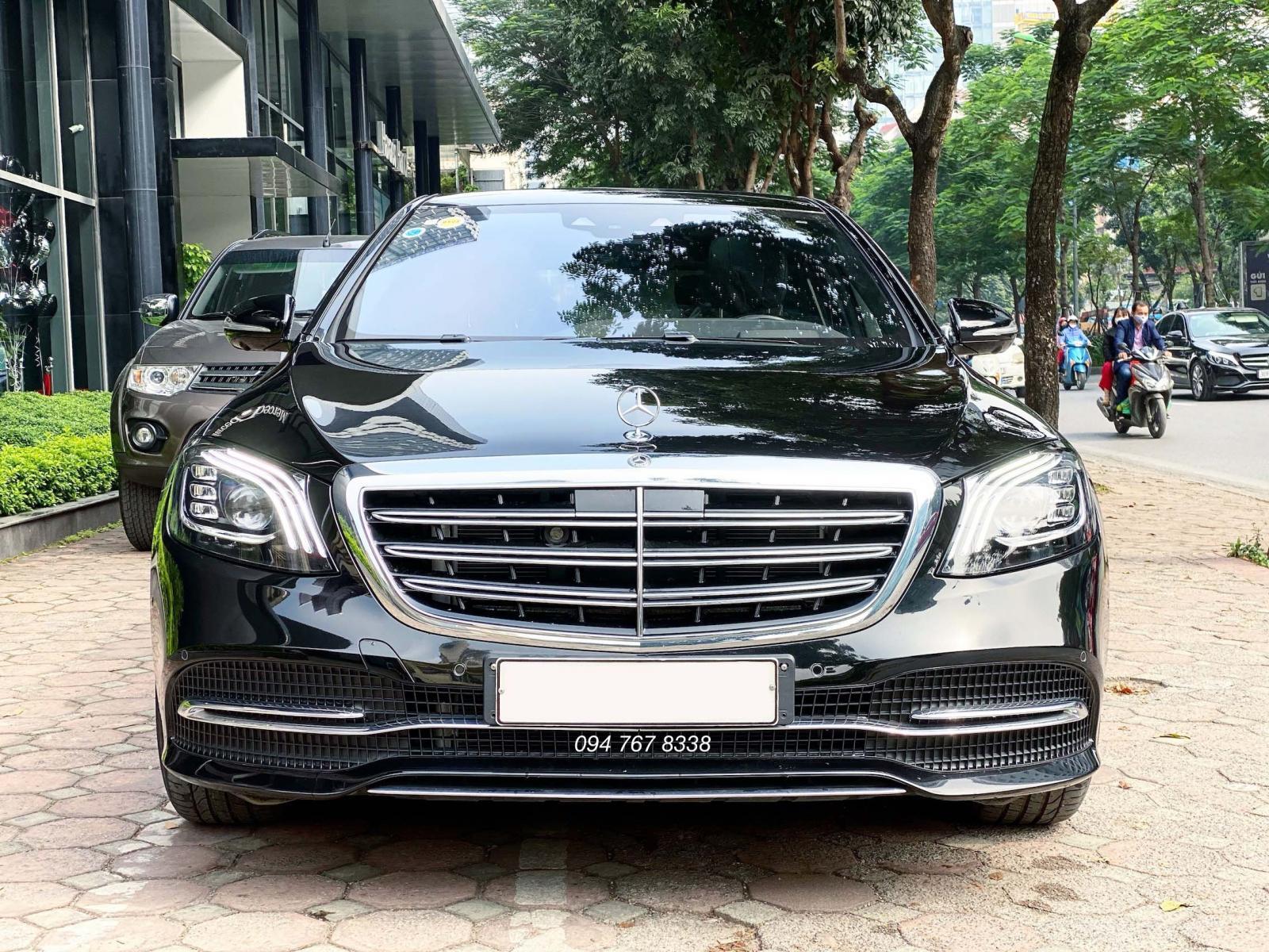 Bán Mercedes S450 Luxury năm 2020, màu đen