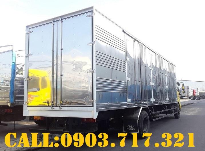 Xe tải DongFeng B180 thùng kín 9m7 l Xe tải DongFeng 7T5 thùng kín ll Xe tải DongFeng B180 thùng kín
