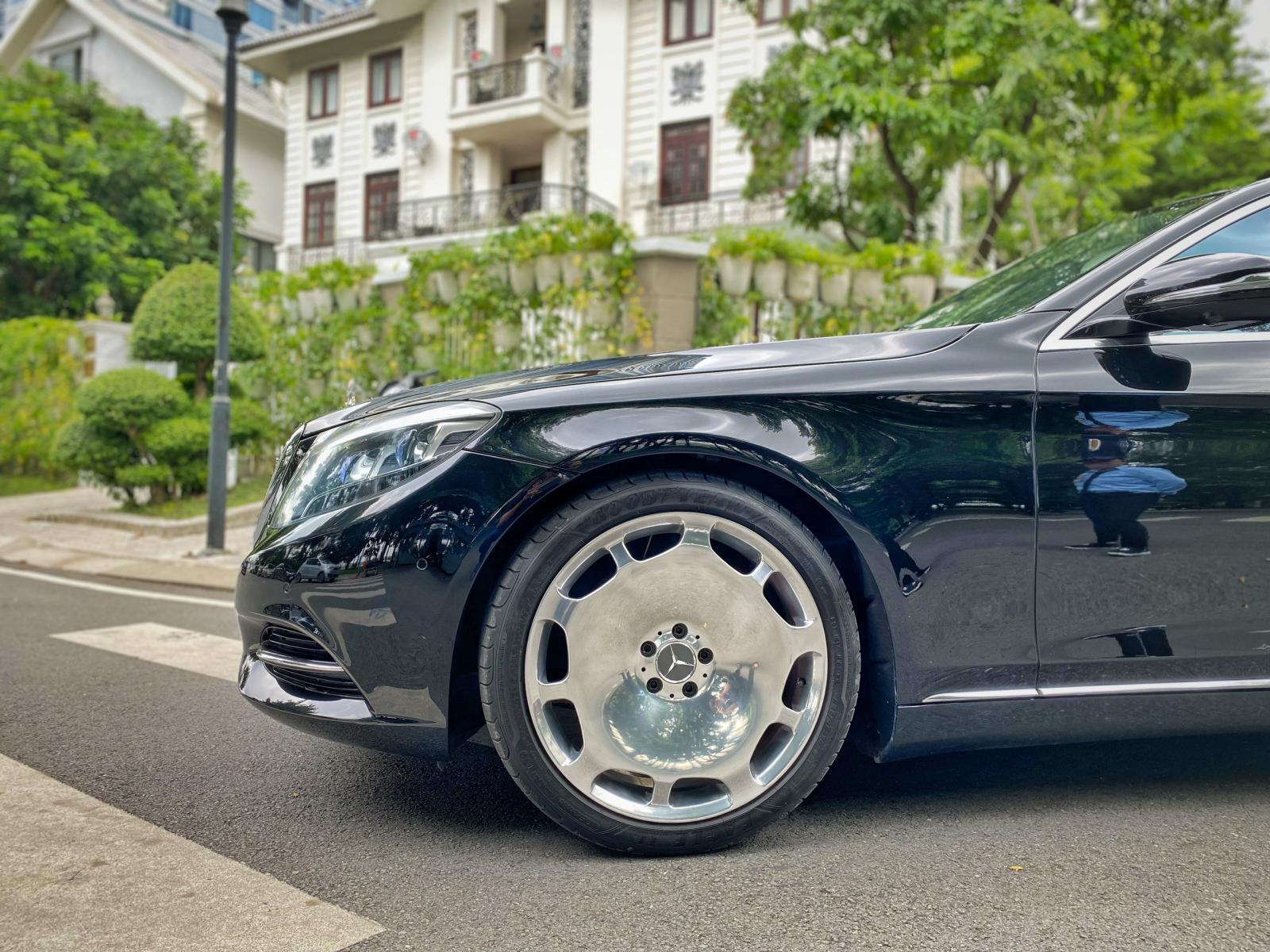 Cần bán xe Mercedes S500 đời 2015, màu đen