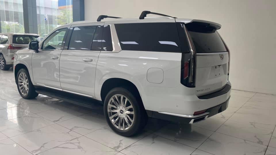Bán xe Cadillac Escarade 3.0 Turbo đời 2021, màu trắng, xe nhập