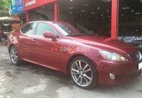 Xe Lexus IS 250 đời 2008, màu đỏ, nhập khẩu nguyên chiếc, số tự động, 980 triệu giá 980 triệu tại Hà Nội