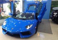 Bán Lamborghini Aventado LP700-4 đời 2015, màu xanh lam, xe nhập Mỹ, giao ngay giá 26 tỷ tại Tp.HCM