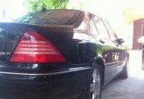 Cần bán lại xe cũ Mercedes S350 đời 2004, màu đen như mới giá 625 triệu tại Hà Nội
