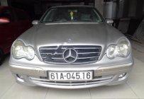 Cần bán Mercedes C180K đời 2004, màu bạc, 360 triệu giá 360 triệu tại Bình Dương
