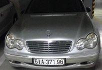 Bán xe Mercedes-Benz C180K màu bạc, Sx năm 2004 giá 399 triệu tại Tp.HCM
