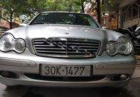 Bán xe Mercedes C180K Kompresor đời 2003, màu bạc, nhập khẩu nguyên chiếc giá 215 triệu tại Hà Nội