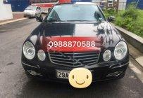 Cần bán xe Mercedes E200 sản xuất 2007, màu đen như mới giá 450 triệu tại Hà Nội