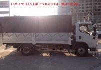 Xe tải GM FAW 6,95 tấn, thùng dài 5m1, máy khỏe. Khuyến mại lớn giá 385 triệu tại Hà Nội