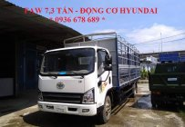 Xe tải thùng mui bạt GM FAW 7,3 tấn động cơ Hyundai, thùng dài 6m25. Giá tốt nhất LH: 0936 678 689 giá 540 triệu tại Hà Nội