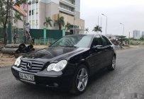 Cần bán gấp Mercedes C180K 2004, màu đen số tự động, giá 209tr giá 209 triệu tại Hà Nội
