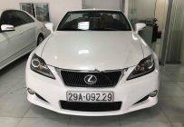 Bán Lexus IS 250C đời 2011, màu trắng, xe nhập giá 1 tỷ 390 tr tại Hà Nội