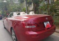 Bán Lexus IS 250C đời 2011, màu đỏ, xe nhập   giá 1 tỷ 490 tr tại Hà Nội