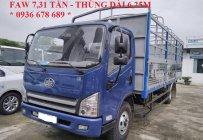 Xe tải faw 7,31 tấn / faw 7.31 tấn / thùng dài 6m25 / giá rẻ / LH 0936 678 689 giá 415 triệu tại Hà Nội