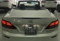 Bán Lexus IS 250C đời 2011, màu trắng, nhập khẩu giá 1 tỷ 398 tr tại Hà Nội
