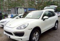 Bán Porsche Cayenne 4.8 AT đời 2010, màu trắng giá 1 tỷ 975 tr tại Hà Nội