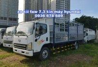 Xe tải FAW 7,3 tấn, động cơ hyundai nhập khẩu Hàn Quốc, thùng dài 6m25, giá rẻ nhất giá 540 triệu tại Hà Nội