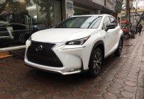 Cần bán xe Lexus NX 200T Fsport năm sản xuất 2015, màu trắng, xe nhập Mỹ giá tốt giá 2 tỷ 680 tr tại Hà Nội