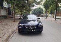 Cần bán lại xe BMW 5 Series 530i sản xuất 2006, màu xanh lam, xe nhập giá 499 triệu tại Hà Nội