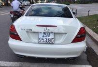 Bán Mercedes SLK 350 năm 2010, màu trắng, nhập khẩu   giá 800 triệu tại Hà Nội