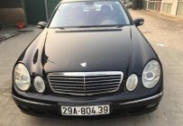 Bán Mercedes E200 đời 2004, màu đen  giá 325 triệu tại Hà Nội