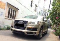 Bán xe Audi Q7 4.2AT 2009 màu vàng cát giá 755 triệu tại Tp.HCM
