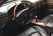 Cần bán Mercedes E240 đời 2004, màu đen giá 295 triệu tại Hà Nội