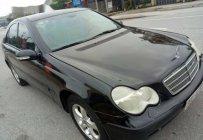 Bán Mercedes C class 1.8 sản xuất năm 2003, màu đen, xe nhập giá 165 triệu tại Hà Tĩnh