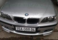 Cần bán lại xe BMW 3 Series 318i sản xuất 2005, màu bạc, xe nhập chính chủ, giá 320tr giá 320 triệu tại Hải Phòng