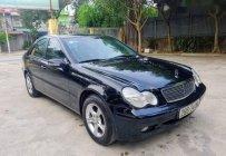 Bán Mercedes C180 năm 2002, màu đen, nhập khẩu nguyên chiếc, giá tốt giá 145 triệu tại Hà Nội