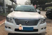 Bán Lexus LX570 nhập Mỹ, màu trắng, nội thất kem. Model và đăng ký 2011, xe siêu đẹp, biển Hà Nội giá 3 tỷ 180 tr tại Hà Nội